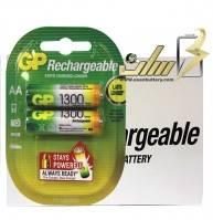 فروش عمده باتری قلمی شارژی جی پی 1300 GP AA