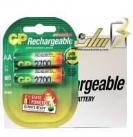 فروش عمده باتری قلمی شارژی جی پی 2700 GP AA