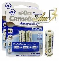 باتری قلمی شارژی کملیون CAMELION AA 2500