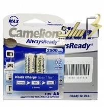 فروش عمده باتری قلمی شارژی کملیون CAMELION AA 2500