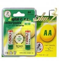 فروش عمده باتری قلمی شارژی سی اف ال 1550 CFL AA