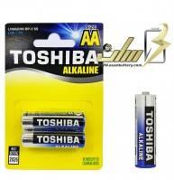 باتری قلمی آلکالاین توشیبا Toshiba AA Alkaline battery