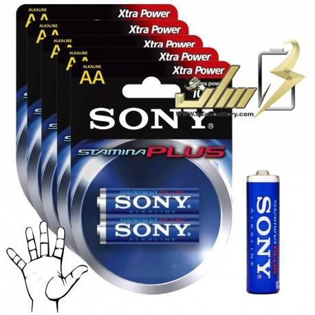 باتری قلمی آلکالاین استامینا پلاس سونی Sony AA Stamina plus battery