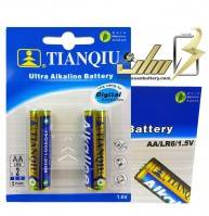 فروش عمده باتری قلمی آلکالاین تیانکیو TIANQIU AA Alkaline battery