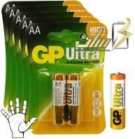 باتری قلمی آلکالاین جی پی الترا GP AA ULTRA ALKALINE battery