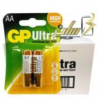 فروش عمده باتری قلمی آلکالاین جی پی الترا GP AA ULTRA ALKALINE battery