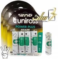باتری قلمی آلکالاین یونیراس Uniross AA Alkaline battery