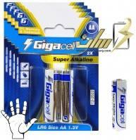 باتری قلمی آلکالاین گیگالس Gigacell AA Alkaline battery