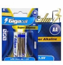 فروش عمده باتری قلمی آلکالاین گیگاسل Gigacell AA Alkaline battery