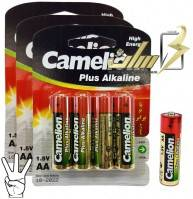 باتری قلمی آلکالاین کملیونCamelion AA Alkaline battery 4x