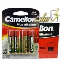 فروش عمده باتری قلمی آلکالاین کملیونCamelion AA Alkaline battery 4x