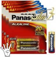 باتری قلمی آلکالاین پاناسونیک PANASONIC AA Alkaline battery