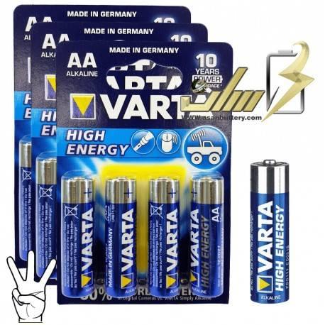 باتری قلمی آلکالاین وارتا VARTA AA Alkaline battery 4x