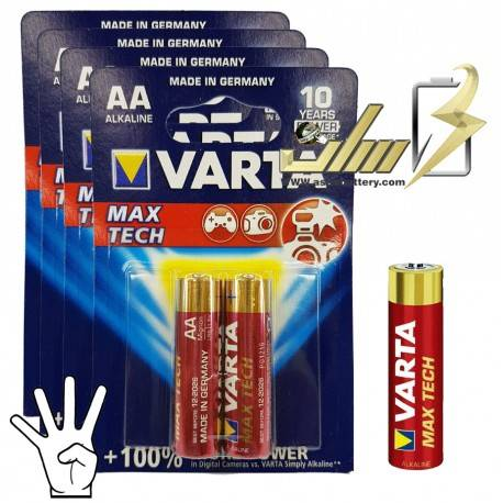 باتری قلمی آلکالاین وارتا VARTA AA Alkaline battery 2x