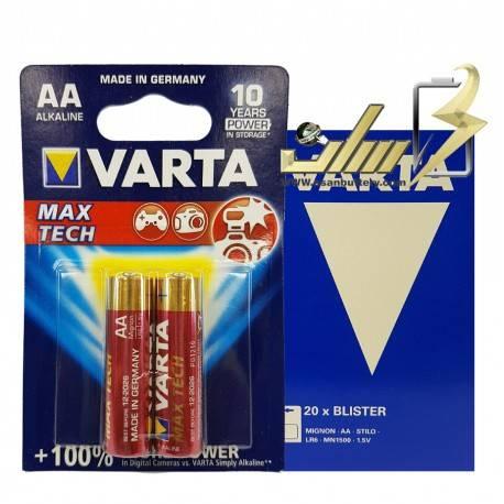 فروش عمده باتری قلمی آلکالاین وارتا VARTA AA Alkaline battery 2x