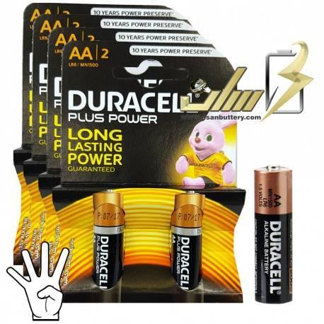 باتری قلمی آلکالاین دوراسل Duracell AA Alkaline battery 2x