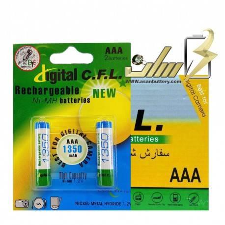 باتری نیمه قلمی شارژی جی پی 2