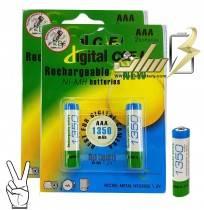 باتری نیمه قلمی شارژی سی اف ال AAA CFL CHARGAEBLE BATTERY