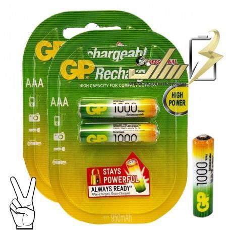 باتری نیمه قلمی شارژی 4