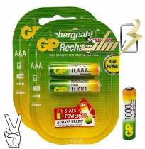 باتری نیمه قلمی شارژی جی پیAAA CHARGEABLE GP BATTERY