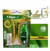 فروش عمده باتری نیمه قلمی گیگاسل AAA CHARGEABLE GIGACELL BATTERY
