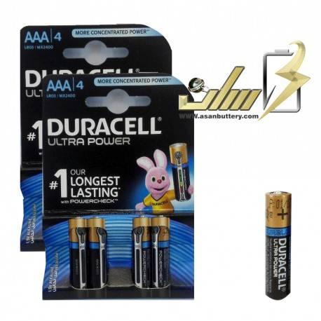 باتری نیمه قلمی آلکالاین دوراسلAAA ALKALINE DURACELL BATTERY