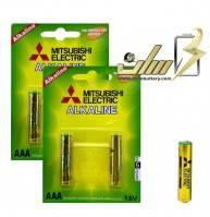 باتری نیمه قلمی آلکالاین شارژیAAA ALKALINE MITSUBISHI BATTERY