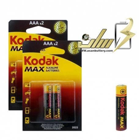 باتری نیمه قلمی آلکالاین کوداک AAA ALKALINE KODAK BATTERY