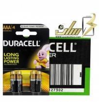 فروش عمده باتری نیمه قلمی آلکالاین دوراسلAAA ALKALINE DURACELL BATTERY 2