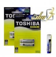 باتری نیمه قلمی آلکالاین توشیباAAA ALKALINE TOSHIBA BATTERY
