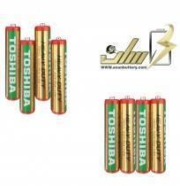 باتری نیمه قلمی معمولی توشیباAAA TOSHIBA NORMAL BATTERY