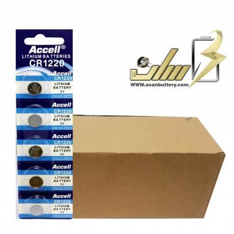 فروش عمده باتری سکه ای CR1220