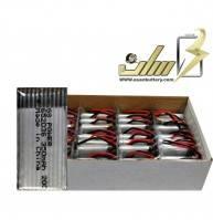 فروش عمده باتری لیتیوم 3.7 ولت 350میلی آمپر کوادکوپتر HP