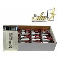 فروش عمده باتری لیتیوم پلیمر 3.7 ولت 550میلی آمپر کوادکوپتر HP