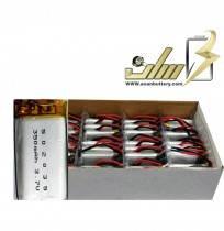 فروش عمده باتری لیتیوم پلیمر 3.7 ولت 350میلی آمپر