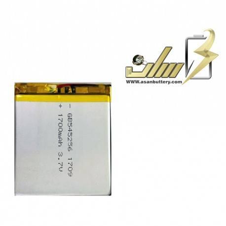 باتری لیتیوم پلیمر 3.7 ولت 1700میلی آمپر