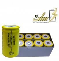 فروش عمده باتری شارژی سایز Dولت 1.2