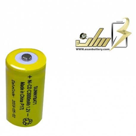 باتری شارژی سایز متوسط 1.2 ولت