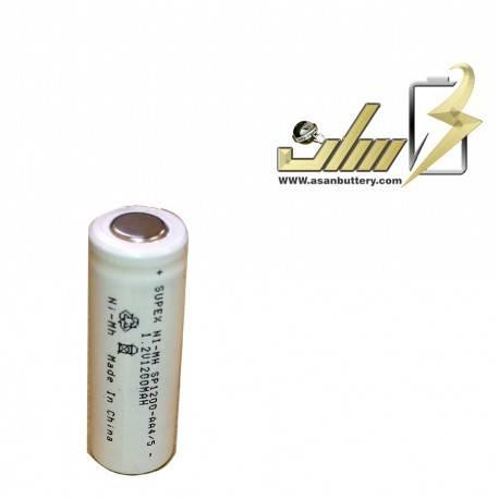باتری شارژی 1.2 ولت قلمی