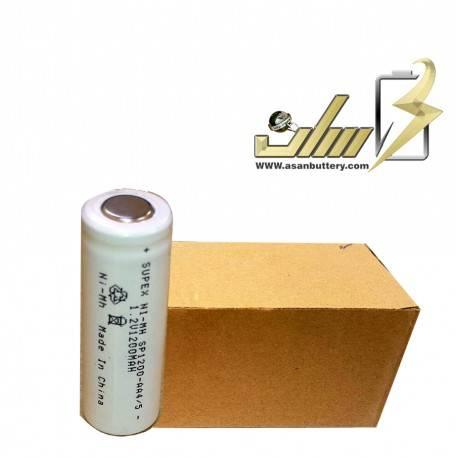 فروش عمده باتری شارژی 1.2 ولت قلمی