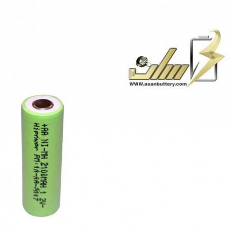 باتری شارژی 1.2 ولت قلمی سرتخت
