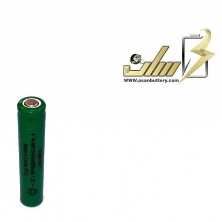 باتری شارژی نیمه قلمی 1.2 ولت