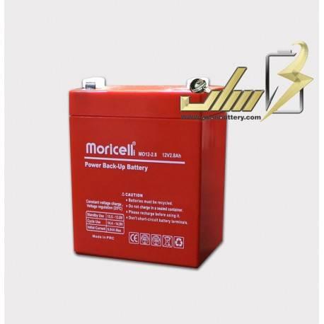 باتری سیلد اسید 12 ولت 2.8 آمپر
