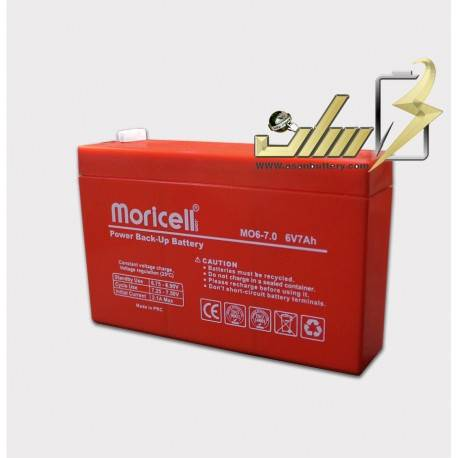 باتری سیلد اسید 6 ولت 7 آمپر