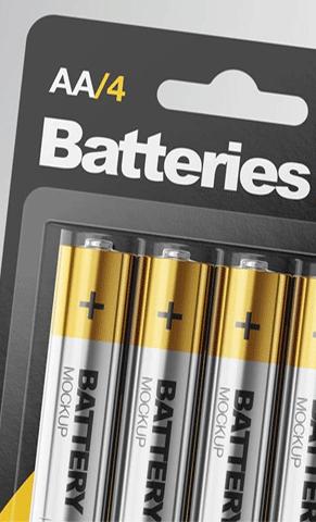 باتری های قلمی